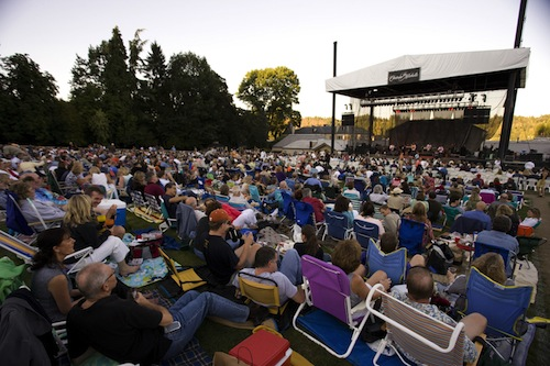 Chateau Ste. Michelle's amphitheater will hold about 4,300 people in Woodinville, Washington.