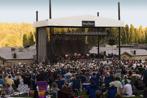 Chateau Ste. Michelle's concert series takes place in Woodinville, Washington.