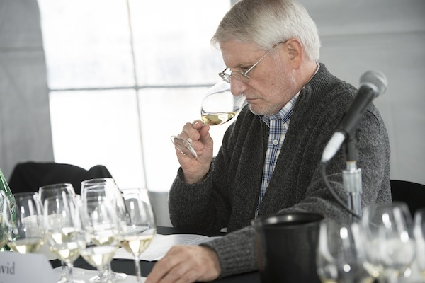 David Adelsheim of Adelsheim Vineyard served on the technical panel at the Oregon Chardonnay Symposium in Dayton.