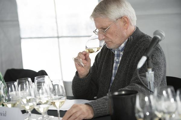 David Adelsheim of Adelsheim Vineyard served on the technical panel at the Oregon Chardonnay Symposium in Dayton.