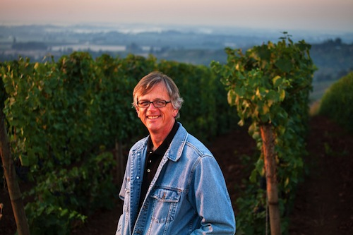 Erath Winery winemaker Gary Horner works in Dundee, Oregon.