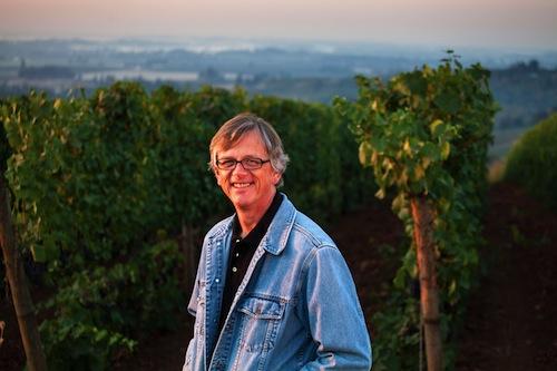 Erath Winery winemaker Gary Horner works in Dundee, Oregon.