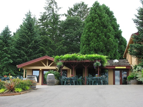 Erath Winery is in Oregon's Dundee Hills.