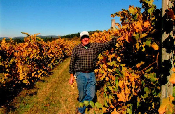 John Bradley of Elkton, Ore., began planting Bradley Vineyards in 1983.