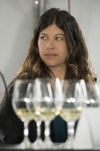 Melissa Burr, winemaker for Stoller Family Estate, played host to the 2014 Oregon Chardonnay Symposium in Dayton. (Photo by © Andrea Johnson Photography)