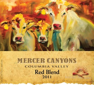 Mercer Canyons 2011 Red Blend