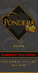 pondera-winery-cabernet-sauvignon-2009-label