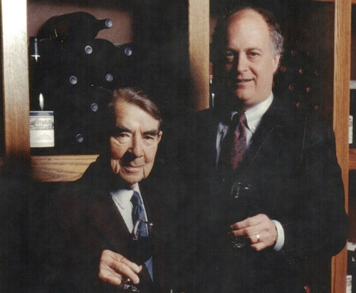 Andre Tchelistcheff and Allen Shoup worked together at Chateau Ste. Michelle.