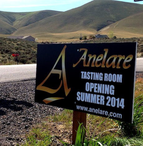 Anelare Winery in Kiona, Wash., will be opening its new tasting room this summer.
