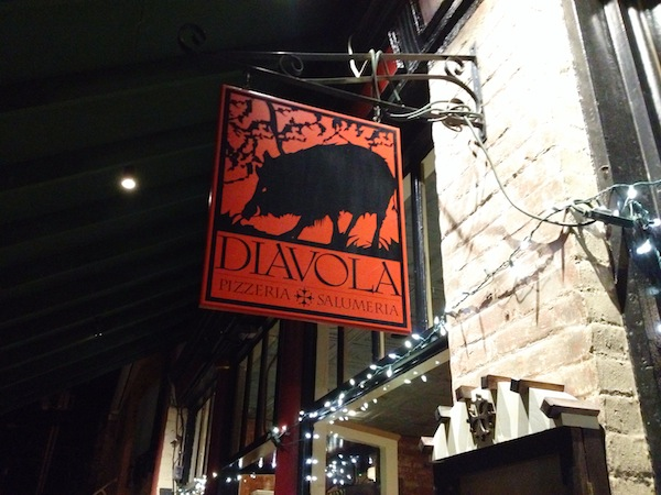 Diavola Pizzeria and Salumeria in Geyserville, Calif., is just off Highway 101 in Sonoma County.