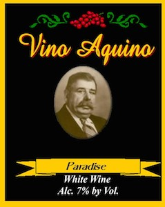 vino-aquino-paradise-white-wine-label