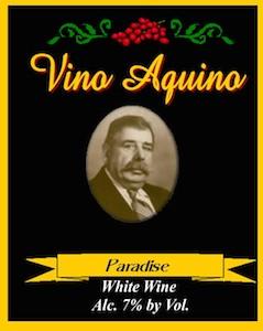 vino-aquino-paradise-white-wine-label