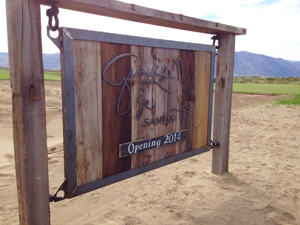 Gamble Sands Golf Course near Brewster, Wash., is scheduled to open Aug. 1.