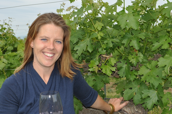 Ashley Trout, winemaker for Flying Trout, relies on the winery's estate Windrow Vineyard for her Malbec from the Walla Walla Valley.