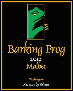 Barking Frog Winery 2012 Malbec