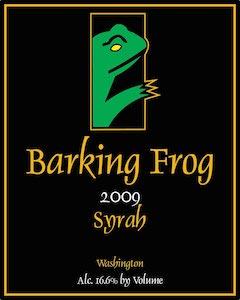 Barking Frog Winery 2009 Syrah