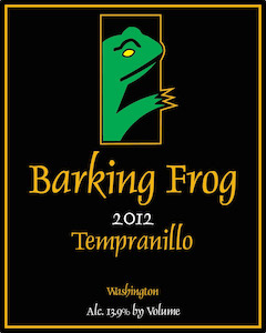 Barking Frog Winery 2012 Tempranillo