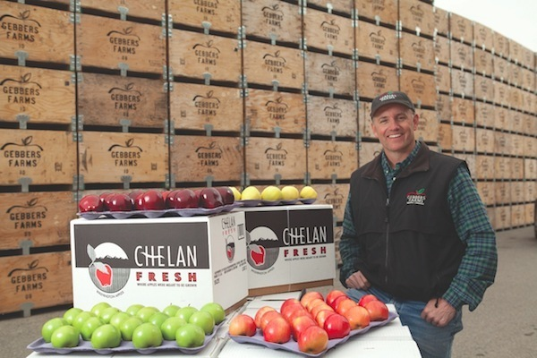 Cass Gebbers is President and CEO of Gebbers Farms in Brewster, Wash. His multi-generation company, founded more than a century ago, is one the world's largest growers of apples and cherries, but his latest pride and joy is Gamble Sands Golf Course, which is scheduled to open Aug. 1.