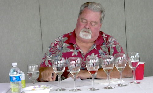 Dave Seaver, longtime washington wine judge and enthusiast.