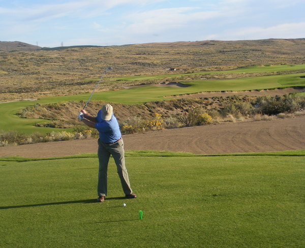The treeless design of Gamble Sands Golf Course makes it easier to pull out the driver on every par-4 and par-5.