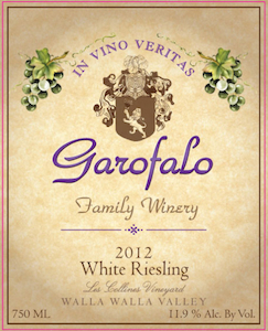 garofalo-family-winery-les-collines-vineyard-riesling-2012-label