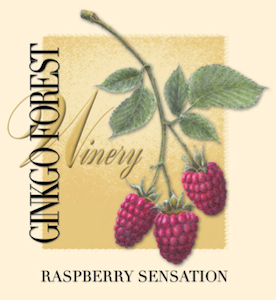 ginkgo-forest-winery-raspberry-sensation-label