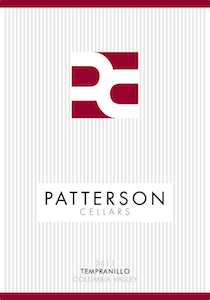 Patterson Cellars 2011 Tempranillo