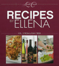 recipes by ellena cover 120x134 - Latah Creek Wine Cellars in Spokane re-issues cookbooks