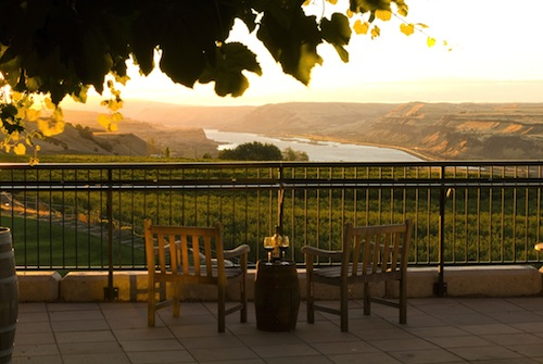 Maryhill Winery is in the Columbia River Gorge.