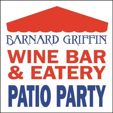 Barnard Griffin Wine Bar and Eatery Patio Party logo