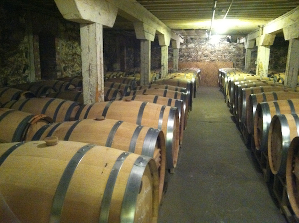 Barrister Winery in Spokane, Wash., includes an underground barrel room where the wines receive vibrations from nearby train traffic. Spokane's Cork District, a portion of downtown near The Davenport Hotel, is home to a growing number of wineries.