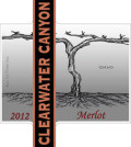 clearwater canyon cellars merlot 2012 label 120x134 - Clearwater Canyon Cellars 2012 Merlot, Idaho, $25