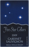 five-star-cellars-cabernet-sauvignon-2009-label