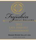 fujishin family cellars late harvest chardonnay 2012 label 120x134 - Fujishin Family Cellars 2012 Late Harvest Chardonnay, Snake River Valley, $20