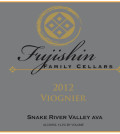 fujishin family cellars viognier 2012 label 120x134 - Fujishin Family Cellars 2012 Viognier, Snake River Valley, $15
