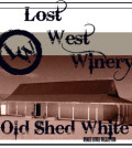 lost west winery label 120x134 - Lost West Winery NV Old Shed White, Snake River Valley, $11