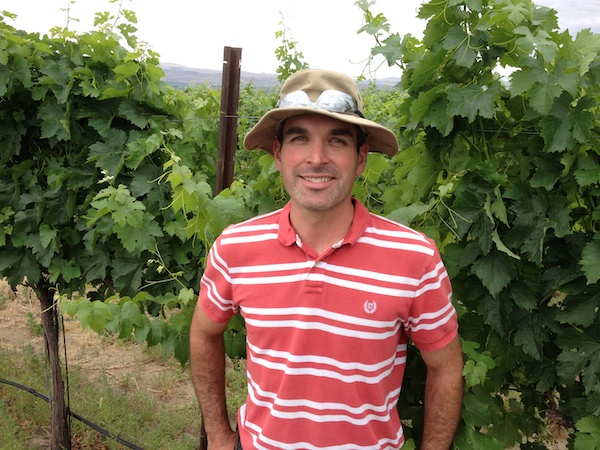 Mike Williamson of Williamson Orchards and Vineyards in Caldwell, Idaho, will manage the plantings at Fraser Vineyard this year.