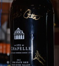 ste chapelle bottle butch 120x134 - Governor to help kick off Idaho Wine Month with bottle signing