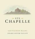 ste chapelle sauvignon blanc nv label 120x134 - Ste. Chapelle 2012 Sauvignon Blanc, Snake River Valley, $12