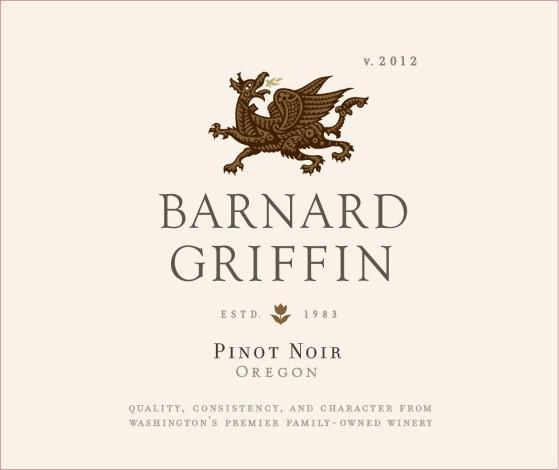 BG CC Photo GRIFFIN Pinot Noir Front Label