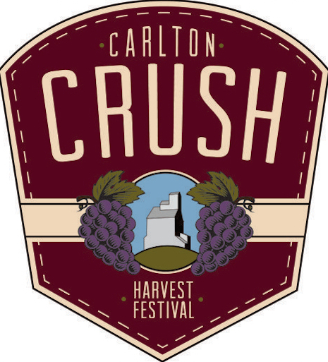 Carlton Crush Harvest Festival logo