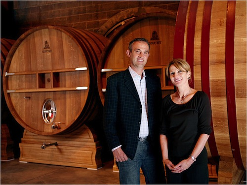 Laurent and Nathalie Gruet will continue in their roles at Gruet Winery through their partnership with Precept Wine in Seattle.
