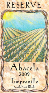 abacela-south-east-block-estate-tempranillo-2009-label