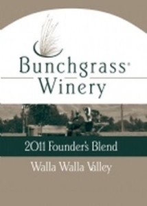 bunchgrass-winery-founder's-blend-2011-label