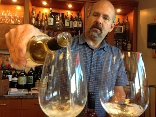 Doug Charles owns Compass Wines in Anacortes, Washington.