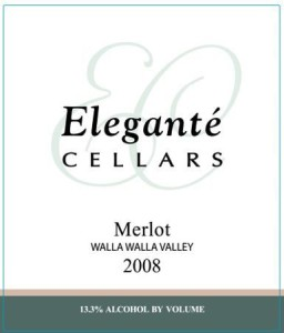 eleganté-cellars-walla-walla-valley-merlot-2008-label