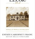 L'Ecole No. 41 Seven Hills Vineyard Estate Cabernet Franc 2011 label