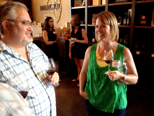 Mercer Wine Estates staged its annual BBQ Bash for wine club members and guests on Saturday, July 19, 2014 in Prosser, Wash.