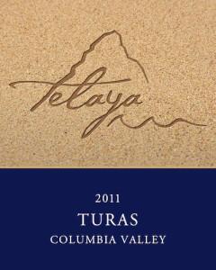 Telaya Wine Co., 2011 Turas label