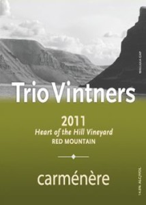 trio-vintners-heart-of-the-hill-vineyard-carménère-2011-label